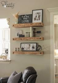 Wooden Shelves Diy by Diy Floating Shelves Free Woodworking Plans Woodworking Plans