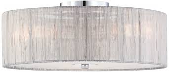flush mount drum light eye catching flush mount drum light on modern lighting cb2 home