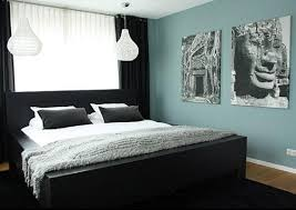 Bedroom Wall Color With Dark Furniture Elegant Bedroom Designs Ecoti Walls Black Feature Wall Interior