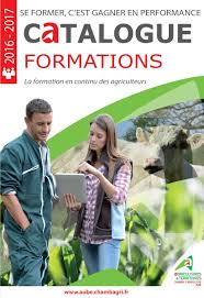 chambre d agriculture aube calaméo catalogue formations 2016 2017