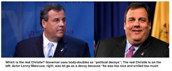 Chris Christie Resume Gov Christie Uses Political Look Alikes When Out Of State Observer
