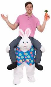 easter bunny costume hop ride on a carry me easter bunny rabbit costume shoulders