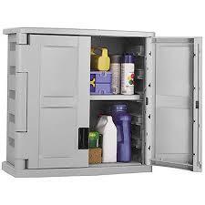 small outdoor plastic storage cabinet impressive wall mount garage storage cabinet gray in storage