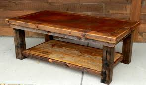 Coffee Tables Rustic Wood Coffee Table Rustic Coffee Table With Wood Plans Distressed End