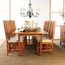 Custom Dining Room Tables - woodland custom dining table solid hardwood natural eco