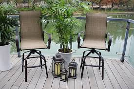 Patio Bar Chairs by Pebble Lane Living