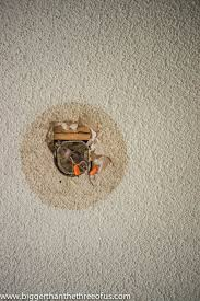 Asbestos Popcorn Ceiling by Drywall U0026 Popcorn Ceiling Repair In A Few Easy Steps Hometalk