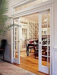 Design House Polished Brass Pocket Door Privacy Hardware by Tip Pocket Doors And A Transom Window Versatility Of Sliding