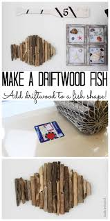 fish decorations for home diy fish decor using driftwood consumer crafts
