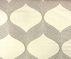 Geometric Drapery Fabric Beige Geometric Jacquard Weave Fabric By The Yard Curtain