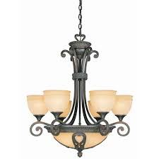 sunset lighting item no f5057 43 29 9 light chandelier w bowl