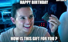Star Wars Memes Funny - best star wars funny happy birthday meme happy wishes