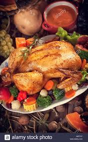 thanksgiving turkey dinners thanksgiving turkey dinner table setting stock photo royalty free