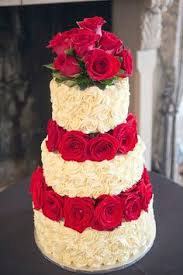 this is my first wedding cake creation a rosset icing with