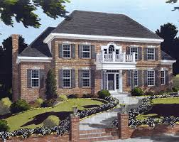 two story colonial house plans house plans home plans and floor plans from ultimate plans