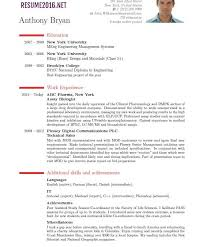 resume latest format format for a cv effective tips for latest