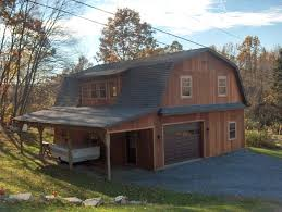 gambrel house plans two gambrel frame hobby shop 30x40x10 with 10 40 lean to t