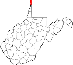 Blank County Map by File Map Of West Virginia Highlighting Hancock County Svg