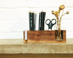 Pencil Holders For Desks Pencil Holder Etsy