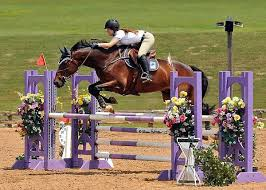 lene bruheim wins high children s jumper chionship at
