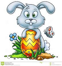 big easter bunny easter bunny 2 stock illustration image of colorful