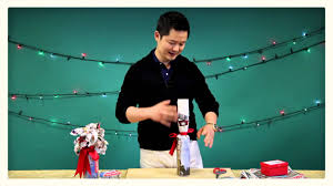 gift wrapping wine bottles gift wrapping tips with danny seo wine bottle