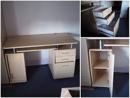 big computer desk big computer desk in good condition in crediton devon gumtree