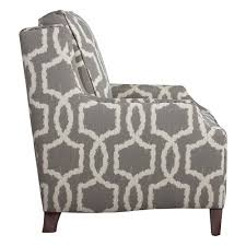 henson accent chair woven geometric pattern