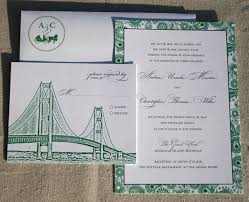 classic mackinac island wedding invitations invitation crush