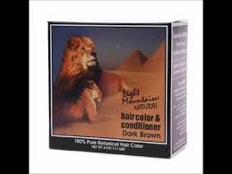 light mountain natural hair color black light mountain natural henna hair color and conditioner dark brown