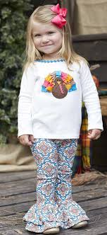 mud pie thanksgiving thanksgiving turkey tunic and legging set for this two