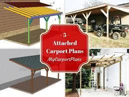 Attached Carport Plans Double Carport Plans Carport Plans Scoop It