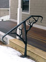 sleeper ornamental welding outdoor handrails landscaping and