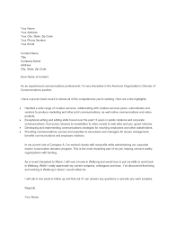 Sample Marketing Cover Letter by Sample U2013 Marketing Assistant For Communications Cover Letter My