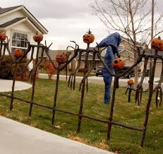 Fence Decorations Halloween Fence Decorations Outdoor Halloween Decorating Ideas
