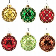 glass ornaments buy 6 pay for 5 handmade 6 cm