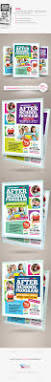 after program flyer templates by kinzi21 graphicriver