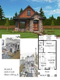 Small Cottage Plan Best 25 Small House Plans Ideas On Pinterest Small Home Plans