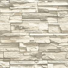 Best Peel And Stick Wallpaper by Roommates Rmk9026wp Natural Stacked Stone Peel And Stick Wallpaper