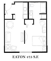 Eaton Center Floor Plan Bella Vista Floorplans Brookfield Assisted Living