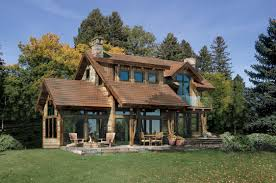 A Frame Lake House Plans Timber Frame House Plan Of Riverbend Timber Framing Elevation