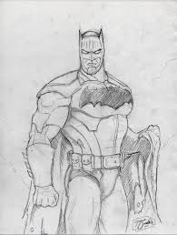 batman sketch by big d artiz on deviantart