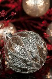 vintage mercury silver ornament 2 stock image image