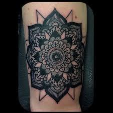 Mandala Tattoo Glasgow | kingofbones mandala action timeless tattoo glasgow