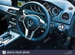 mercedes dashboard steering wheel and dashboard in the mercedes c class diesel