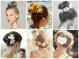 flower hair bun the best way to wear flowers in your hair hair world magazine