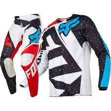 Fox 2017 Kids Mx New 180 Nirv Red White Jersey Pants Youth