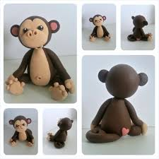 monkey cake topper birthday cake toppers r sq d