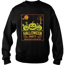 halloween party events halloween party events sweatshirt