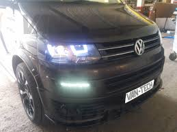 volkswagen van 2015 vw t5 light bar head lights 2010 2015